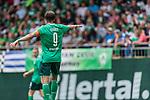 07.07.2019, Parkstadion, Zell am Ziller, AUT, TL Werder Bremen Zell am Ziller / Zillertal Tag 03 - FSP Blitzturnier<br /> <br /> im Bild<br /> Martin Harnik (Werder Bremen #09) Kapitän / mit Kapitänsbinde, <br /> <br /> im dritten Spiel des Blitzturniers SV Werder Bremen vs Karlsruher SC, <br /> <br /> Foto © nordphoto / Ewert