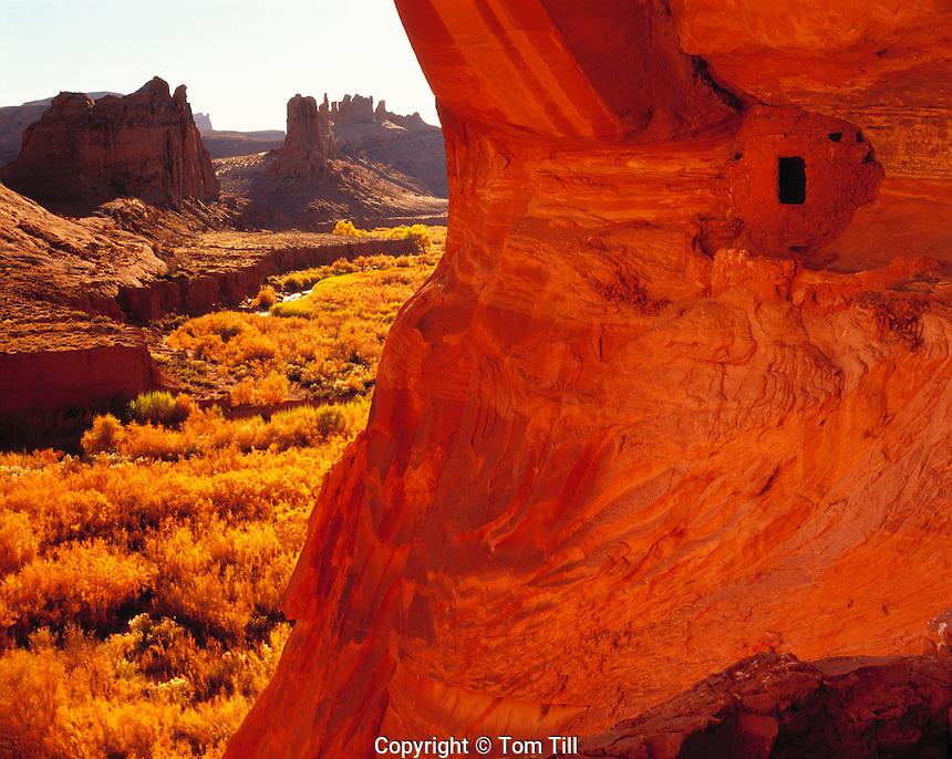 Poncho House Ruin, San Juan River, Utah    Largest Ancestral Puebloan ruin in Utah