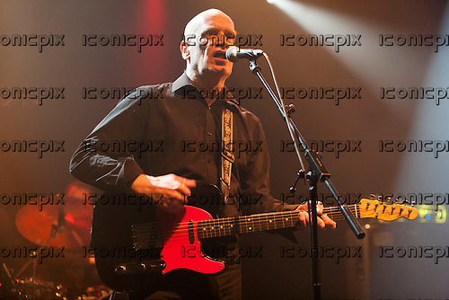 WILKO JOHNSON - Former Dr. Feelgood guitarist (real name John Peter Wilkinson) - performing live on his farewell tour at Koko in London, UK - 06 Mar 2013.  Photo credit: John Rahim/Music Pics Ltd/IconicPix