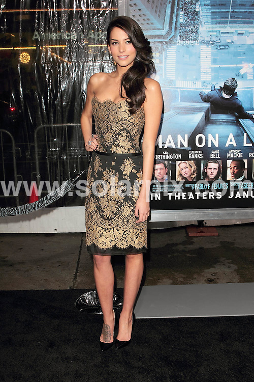 "**ALL ROUND PICTURES FROM SOLARPIX.COM**                                             **SYNDICATION RIGHTS FOR UK, AUSTRALIA, DENMARK, PORTUGAL, S. AFRICA, SPAIN & DUBAI (U.A.E) & ASIA (EXCLUDING JAPAN) ONLY**                                                                                  Caption: ""Man on a Ledge"" Los Angeles Premiere at The Grauman's Chinese Theatre in Hollywood, CA, USA                                                                              .This pic: Genesis Rodriguez                                                                                             JOB REF: 14388       PHZ       DATE: 23.01.2012                                                           **MUST CREDIT SOLARPIX.COM OR DOUBLE FEE WILL BE CHARGED**                                                                      **MUST AGREE FEE BEFORE ONLINE USAGE**                               **CALL US ON: +34 952 811 768 or LOW RATE FROM UK 0844 617 7637**"
