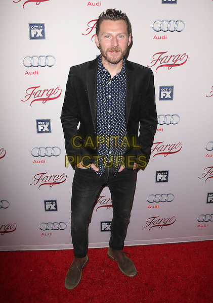 07 October 2015 - Hollywood, California - Keir O'Donnell. &quot;Fargo&quot; Season 2 Premiere held at ArcLight Cinemas. <br /> CAP/ADM/FS<br /> &copy;FS/ADM/Capital Pictures