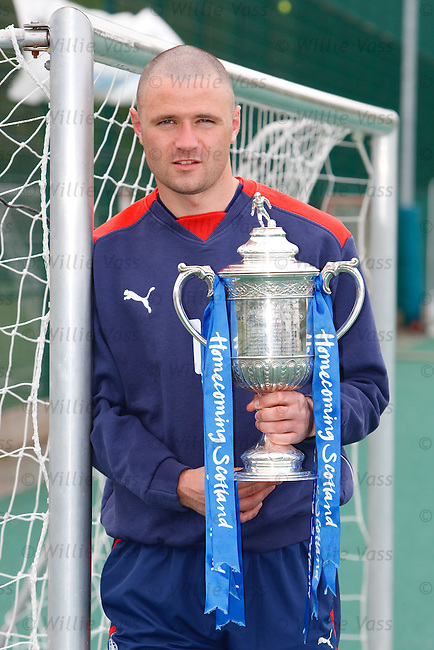 Falkirk's Michael Higdon looking ahead to Sunday's Homecoming Scottish Cup semi final