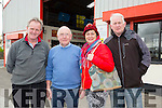 Jack Buckley Faha, John Daly Brownes, Bernie and Dio Buckley Faha at the Brownes Store open day on Wednesday