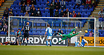 12.05.2018 St Johnstone v Ross County: Scott Fox despairs as St Johnstone equalise past his outstretched arms