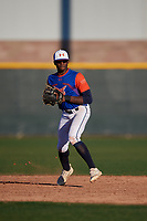 KeiJhuan James during the Under Armour All-America Tournament powered by Baseball Factory on January 18, 2020 at Sloan Park in Mesa, Arizona.  (Mike Janes/Four Seam Images)