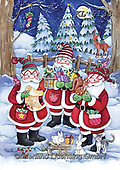 Interlitho-Dani, NEW FOLDER, paintings+++++,3 santas,KL6138,#New folde, EVERYDAY