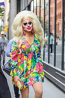 NOVA YORK, EUA, 05.09.2019 - CELEBRIDADE-EUA -  Drag queen Trixie Mattel  é vista no bairro do Soho em Manhattan na cidade de Nova York nesta quinta-feira, 05 (Foto: Vanessa Carvalho/Brazil Photo Press/Folhapress)