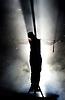 Jesus Christ Superstar <br /> by Tim Rice &amp; Andrew Lloyd Webber <br /> at The Regent's Park Open Air Theatre, London, Great Britain <br /> press photocall<br /> 19th July 2016 <br /> <br /> Declan Bennett as Jesus <br /> <br /> <br /> <br /> <br /> Photograph by Elliott Franks <br /> Image licensed to Elliott Franks Photography Services