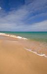 Fuerteventura empty beach,Canary Islands, Spain.