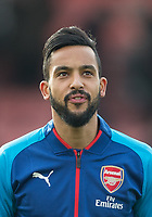 Theo Walcott of Arsenal ahead of the Premier League match between Bournemouth and Arsenal at the Goldsands Stadium, Bournemouth, England on 14 January 2018. Photo by Andy Rowland.