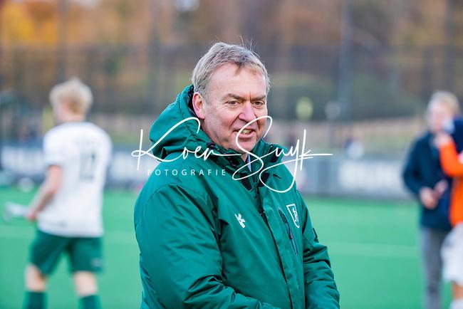 BLOEMENDAAL - coach Albert Kees Manenschijn (Rdam) na de   hoofdklasse competitiewedstrijd  heren , Bloemendaal-Rotterdam (1-1) .COPYRIGHT KOEN SUYK