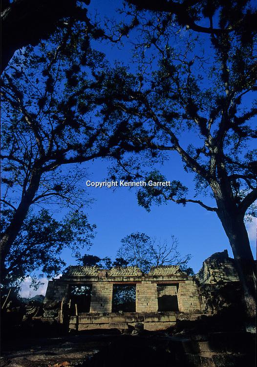 Temple 22; Maya; Copan; Honduras