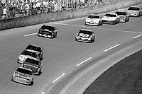 Sterling Marlin leads a pack of cars, Daytona 500, NASCAR Winston Cup race, Daytona International Speedway, Daytona Beach, FL, February 1994(Photo by Brian Cleary/bcpix.com)