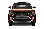 Car photography straight front view of a 2016 Lexus RX 350 5 Door SUV Front View
