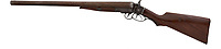 BNPS.co.uk (01202 558833)<br /> Pic: HeritageAuctions/BNPS<br /> <br /> Wyatt Earp's 10-gauge shotgun sold for £290,000 ($350,000) including auction costs. The gun is one he used to kill his rival Curly Bill Brocius who had brutally murdered his brother, Morgan.<br /> <br /> A trio of guns that were owned by two of the Wild West's best known personalities have sold at auction for a whopping £305,000.<br /> <br /> The weapons, which were sold as individual lots, belonged to Calamity Jane and Wyatt Earp.<br /> <br /> Calamity Jane, real name Martha Jane Canary, is best known for appearing in Buffalo Bill's Wild West show and being an acquaintance of Wild Bill Hickok.<br /> <br /> Wyatt Earp meanwhile was an Old West lawman and professional gambler who took part in the infamous shootout at the O.K. Corral in 1881.