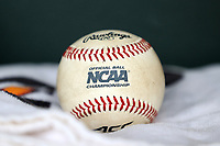 CHAPEL HILL, NC - FEBRUARY 19: An Atlantic Coast Conference (ACC) and NCAA game baseball during a game between High Point and North Carolina at Boshamer Stadium on February 19, 2020 in Chapel Hill, North Carolina.