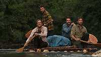 Jungle (2017)<br /> Daniel Radcliffe, Alex Russell, Joel Jackson &amp; Thomas Kretschmann<br /> *Filmstill - Editorial Use Only*<br /> CAP/KFS<br /> Image supplied by Capital Pictures