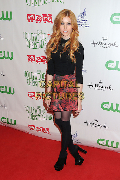 29 November 2015 - Hollywood, California - Katherine McNamara. 84th Annual Hollywood Christmas Parade held on Hollywood Blvd. <br /> CAP/ADM/BP<br /> &copy;BP/ADM/Capital Pictures