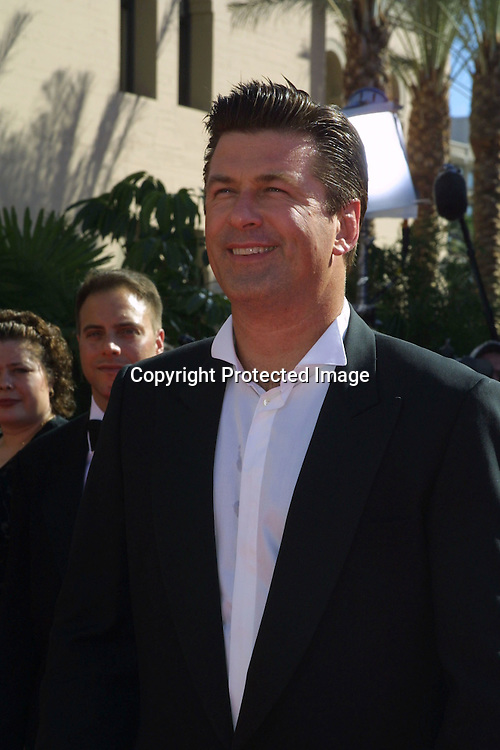 ©2002 KATHY HUTCHINS/ HUTCHINS PHOTO .54th ANNUAL PRIMETIME EMMY AWARDS.SHRINE AUDITIORIUM .LOS ANGELES, CA  9/22/02.ALEC BALDWIN