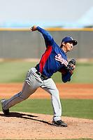 Richard Alvarez - Texas Rangers 2009 Instructional League. .Photo by:  Bill Mitchell/Four Seam Images..