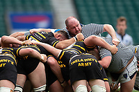 Neil Briggs of Cheshire in action at a scrum. Bill Beaumont County Championship Division 1 Final between Cheshire and Cornwall on June 2, 2019 at Twickenham Stadium in London, England. Photo by: Patrick Khachfe / Onside Images