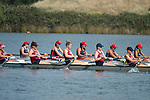 May 16, 2015; Gold River, CA, USA; II Eight race, Loyola Marymount Lions during the WCC Rowing Championships at Lake Natoma.