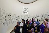 55th Art Biennale in Venice - The Encyclopedic Palace (Il Palazzo Enciclopedico).<br /> Giardini. Greece Pavilion.<br /> Stefanos Tsivopoulos (Greece). &quot;History Zero&quot;, 2013.