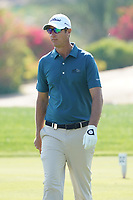 Nicolas Colsaerts (BEL) on the 7th during the Pro-Am of the Abu Dhabi HSBC Championship 2020 at the Abu Dhabi Golf Club, Abu Dhabi, United Arab Emirates. 15/01/2020<br /> Picture: Golffile | Thos Caffrey<br /> <br /> <br /> All photo usage must carry mandatory copyright credit (© Golffile | Thos Caffrey)