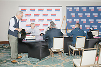 Double Tree Hotel - Radio Row - PBS - NH Primary Day - Manchester NH - 11 Feb 2020