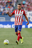Atletico de Madrid´s Koke during 2015-16 La Liga match at Vicente Calderon stadium in Madrid, Spain. MONTH XX, 2015. (ALTERPHOTOS/Victor Blanco)