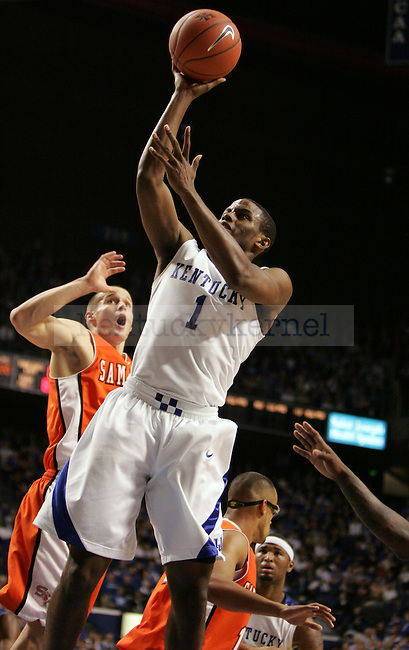 UK plays Sam Houston State in the first half at Rupp Arena on Thursday, Nov. 19, 2009. Photo by Britney McIntosh   Staff