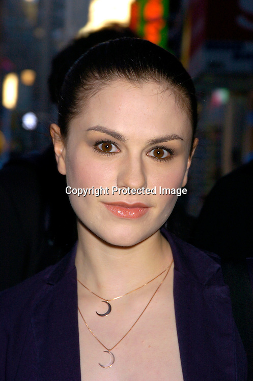 Anna Paquin ..at the 20th Annual Artios Awards for Outstanding Achievements in Casting on October 12, 2004 at ..Caroline's on Broadway. ..Photo by Robin Platzer, Twin Images