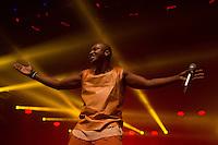 SÃO PAULO, SP, 04.06.2016 – SHOW-SP - O cantor de pagode Thiaguinho lança seu novo dvd #VamoQVamo no Espaço das Américas, em São Paulo na noite deste sábado  (Foto: Ciça Neder/Brazil Photo Press)