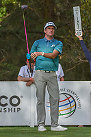 Bubba Watson (USA) watches his tee shot on 16 during round 2 of the World Golf Championships, Mexico, Club De Golf Chapultepec, Mexico City, Mexico. 2/22/2019.<br /> Picture: Golffile | Ken Murray<br /> <br /> <br /> All photo usage must carry mandatory copyright credit (&copy; Golffile | Ken Murray)