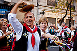 Immigrants residents celebrate the day of the immigrant Calabrés in Argentina