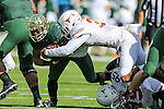 Texas Longhorns safety Jason Hall (31) in action during the game between the Texas Longhorns and the Baylor Bears at the McLane Stadium in Waco, Texas.