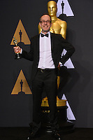 John Gilbert in the photo room at the 89th Annual Academy Awards at Dolby Theatre, Los Angeles, USA 26 February  2017<br /> Picture: Paul Smith/Featureflash/SilverHub 0208 004 5359 sales@silverhubmedia.com