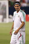 21 June 2007:  Mexico's Jose Jonny Magallon. The National Team of Mexico defeated Guadeloupe 1-0  in a CONCACAF Gold Cup Semifinal match at Soldier Field in Chicago, Illinois.
