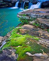 Falling Water Falls, Ozark National Forest, <br /> Ozark Mountains, Richland Creek Wilderness, Arkansas