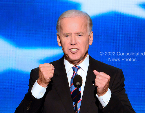 United States Vice President Joe Biden delivers his acceptance speech at the 2012 Democratic National Convention in Charlotte, North Carolina on Thursday, September 6, 2012.  .Credit: Ron Sachs / CNP.(RESTRICTION: NO New York or New Jersey Newspapers or newspapers within a 75 mile radius of New York City)