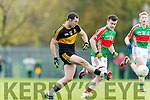 Daithí Casey Dr Crokes in Action against Tomás McGrath Loughmore-Castleiney in the Munster Senior Club Semi-Final at Crokes Ground, Lewis Road on Sunday