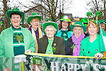 Kathleen O'Malley, Noreen Lyons, Anna Sheehan, Catriona O'Malley, Teresa Brady and Maisie Flynn having fun at the Killorglin St Patrick's Day parade on Monday