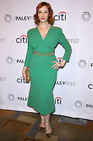 "HOLLYWOOD, LOS ANGELES, CA, USA - MARCH 21: Christina Hendricks at the 2014 PaleyFest - ""Mad Men"" held at Dolby Theatre on March 21, 2014 in Hollywood, Los Angeles, California, United States. (Photo by Celebrity Monitor)"