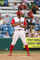 July 4th 2008:  Outfielder Darin McDonald (30) of the Williamsport Crosscutters, Class-A affiliate of the Philadelphia Phillies, during a game at Bowman Field in Williamsport, PA.  Photo by:  Mike Janes/Four Seam Images
