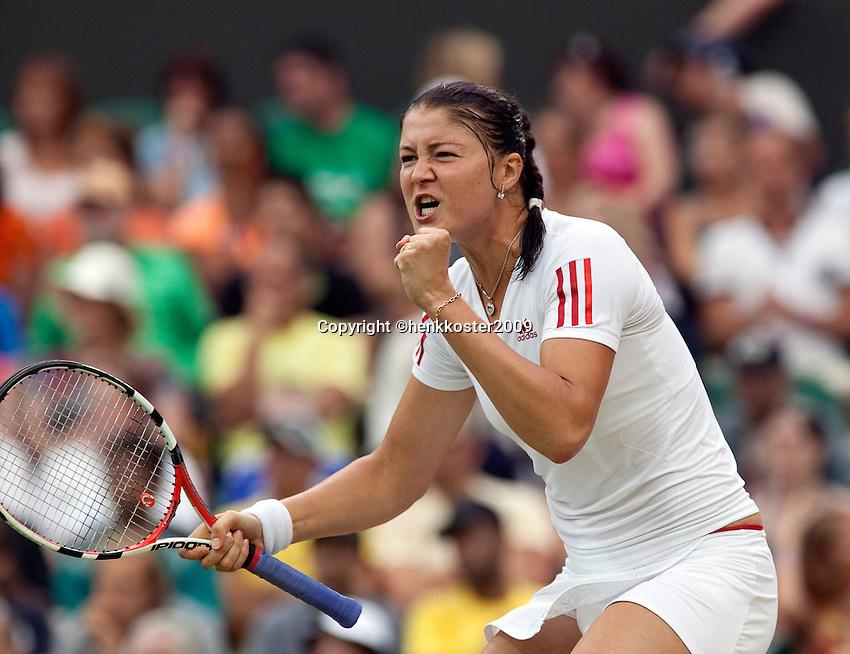 29-6-09, England, London, Wimbledon, Dinara Safina winning