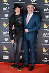 Fernando Guillen Cuervo with his son Manuel Guillen Cuervo attends to the Feroz Awards 2017 in Madrid, Spain. January 23, 2017. (ALTERPHOTOS/BorjaB.Hojas)