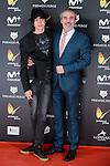 Fernando Guillen Cuervo with his son Manuel Guillen Cuervo attends to the Feroz Awards 2017 in Madrid, Spain. January 23, 2017. (ALTERPHOTOS/BorjaB.Hojas)