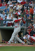 Preston Wilson of the St. Louis Cardinals vs. the Atlanta Braves March 16th, 2007 at Champion Stadium in Orlando, FL during Spring Training action.  Photo copyright Mike Janes Photography 2007.