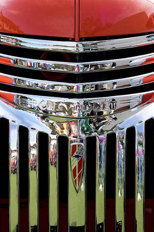 Chevrolet Grille 04 - Chevrolet custom car front grille.