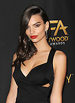 Emily Ratajkowski at the Hollywood Reporter 2014 HFA After Party held at W Hollywood Loft in Los Angeles, CA. November 14, 2014.